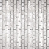 White gray brick wall texture Stock Image