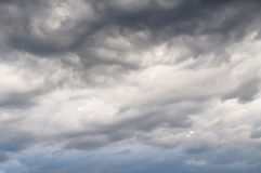 White and gray cloud Royalty Free Stock Photo