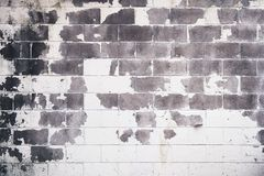 White and Gray Concrete Brick Wall Stock Photography