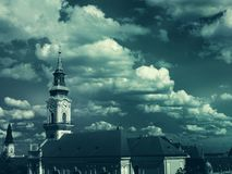White and Gray Concrete Cathedral Royalty Free Stock Photos