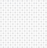 White gray dot pattern background vector Royalty Free Stock Photography