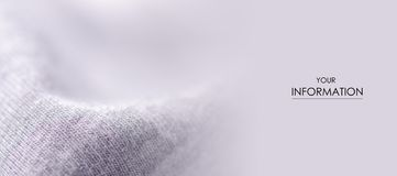 White gray fabric material textile texture pattern. Macro blur background stock photos