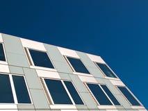 White and gray facade. Stock Photography
