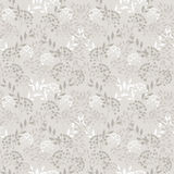 White and gray. Flowers on gray background Royalty Free Stock Photo