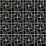White and gray lines on a black background Royalty Free Stock Image