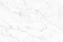 White (gray) marble texture, detailed structure of marble in natural patterned for background and design. Black and white marble patterned texture background stock photos