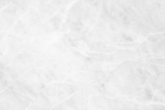 White (gray) marble texture, detailed structure of marble in natural patterned  for background and design. Royalty Free Stock Photos