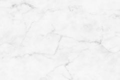 White (gray) marble texture, detailed structure of marble in natural patterned  for background and design. Stock Image