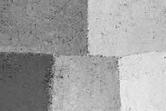 White and gray painted wall texture Stock Photos