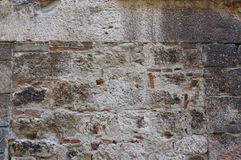 White with gray stone wall close up. Use for backgrounds Stock Image
