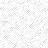 White and gray textured diagonal lines fabric seamless pattern, vector. Background Stock Photography