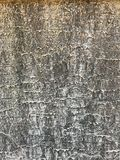 White gray wavy lines background pattern texture on the cement wall surface, detail backdrop design closeup abstract Stock Photo