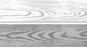 White, Gray Wooden Planks Surface. Cutting Chopping Boards. Wood Texture. Vector Illustration. Stock Photos