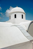 White Greek Church Stock Photos