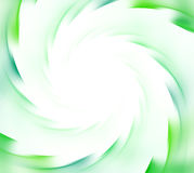 White and green abstract ecology background. Spiral rays of sunf. Lare. Natural green energy explosion texture. Fractal pattern Royalty Free Stock Photo