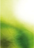 White and green background Stock Photo