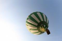 White green balloon Stock Image