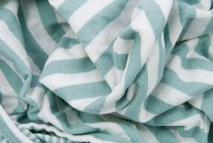 White green cotton background Stock Photography