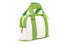 White and green make-up case Stock Images