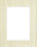 White & green photo frame royalty free stock image