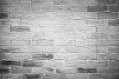 White and grey brick wall Royalty Free Stock Photo