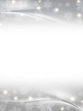 White grey christmas background stock illustration