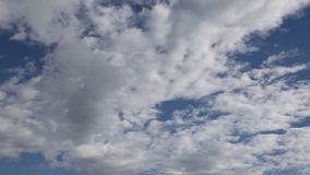 Time-lapse clouds motion