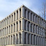 White and Grey Concrete Building Royalty Free Stock Image