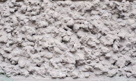 White grey dotted minimalistic photo texture with rough surface. Royalty Free Stock Images