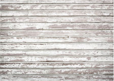 White, grey grunge wooden wall texture, old vector illustration