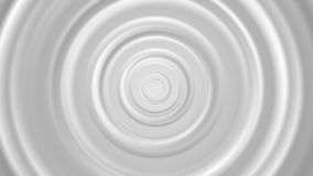 White and grey smooth circles video animation stock video