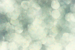White and grey soft bokeh lights. dreamy defocused background Stock Images