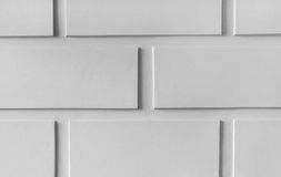 White or grey stone wall closeup background photo texture. Royalty Free Stock Photos