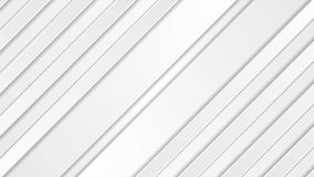 White grey striped abstract tech video animation stock video footage