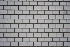 White grey wall brick background in Japan Royalty Free Stock Photography