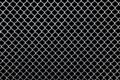 White grid on a black background Royalty Free Stock Photos