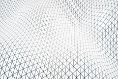White grid wallpaper Royalty Free Stock Images