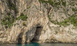 White Grotto of the Capri, Italy Royalty Free Stock Photography