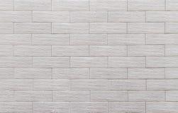 White grunge brick wall background Stock Images