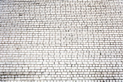 White grunge brick wall background Stock Photo