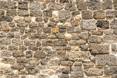 White grunge brick wall. Background, with space for text or image.  Royalty Free Stock Images