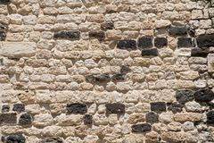 White grunge brick wall. Background, with space for text or image.  Stock Photography