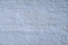 White grunge brick wall Stock Image