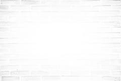 White grunge brick wall texture background Stock Image
