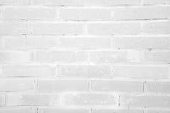 White grunge brick wall texture background Royalty Free Stock Photo