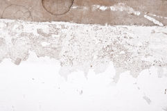 White grungy wall Royalty Free Stock Image
