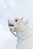 The white guardian singha Royalty Free Stock Photos