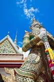 White guardian stupa Royalty Free Stock Photos