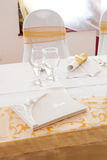 White guest book Stock Photo