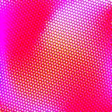 White Halftone Background. Color halftone texture, abstract gradient background with moire effect, circles pattern for design concepts, wallpapers, posters, web Stock Photography